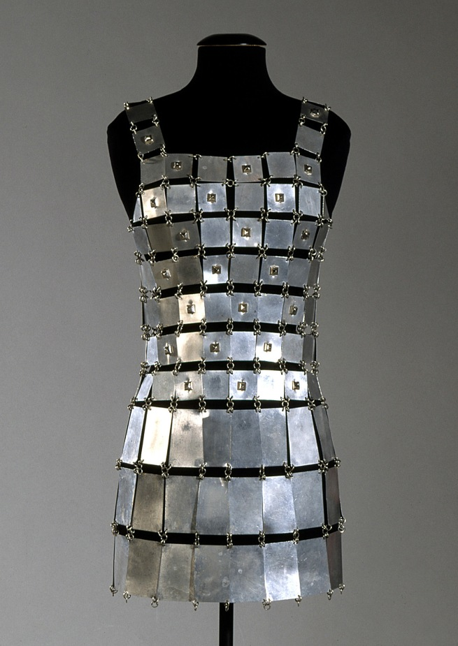 Paco Rabanne (Spanish, b. 1934) 'Minidress' 1966