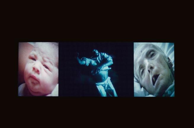 Bill Viola. 'Nantes Triptych' 1992