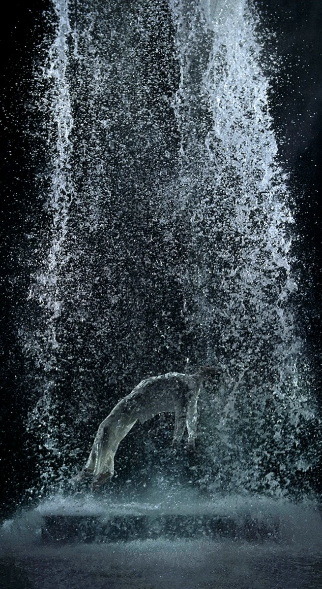 Bill Viola. 'Tristan's Ascension (The Sound of a Mountain Under a Waterfall)' 2005
