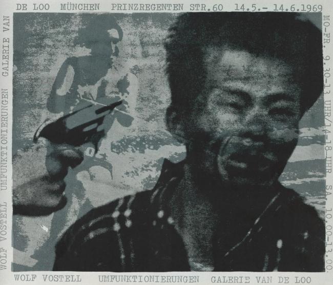 Wolf Vostell (German, 1932-1998) 'Umfunktionierungen' (Reinterpretations) 1969