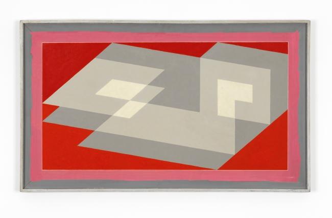 Josef Albers (American, born Germany 1888-1976) 'Tenayuca' I1942