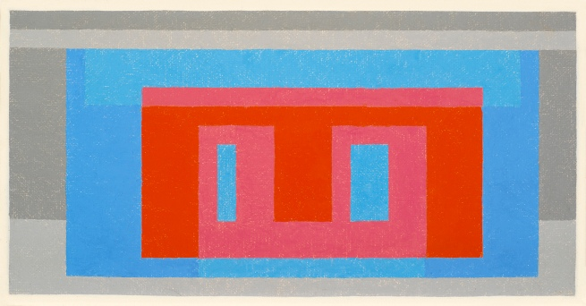 Josef Albers (American, born Germany 1888-1976) 'Luminous Day' 1947-1952