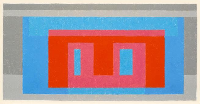 Josef Albers (American, born Germany 1888-1976) 'Luminous Day' 1947-1952