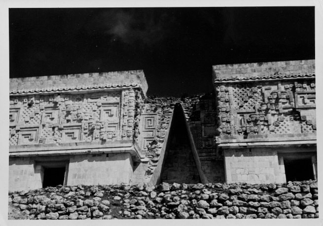 Josef Albers (American, born Germany 1888-1976) 'Governor's Palace, Uxmal' 1952