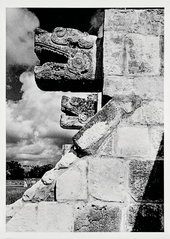 Josef Albers (American, born Germany 1888-1976) 'Platform of the Eagles, Chichen Itza' 1952