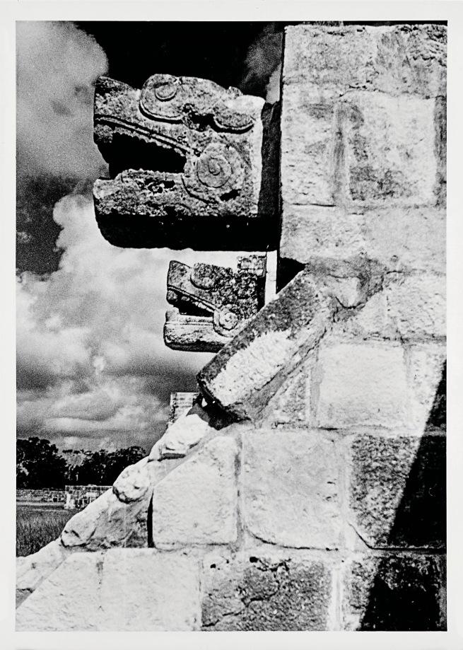 Josef Albers (American, born Germany 1888-1976) 'Platform of the Eagles, Chichen Itza' 1952