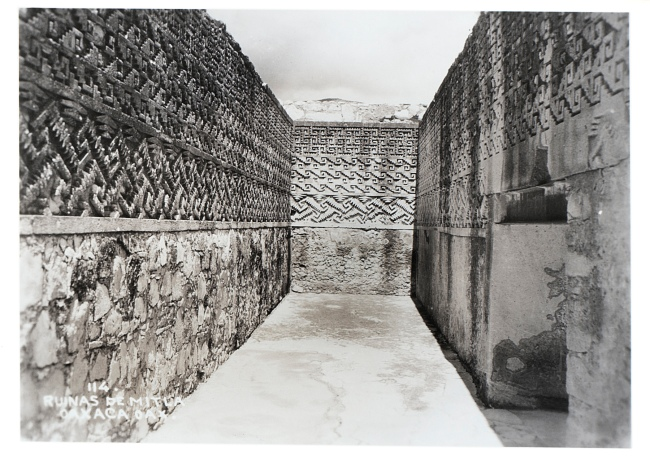 Josef Albers (American, born Germany 1888-1976) 'Mitla' 1956 (detail)
