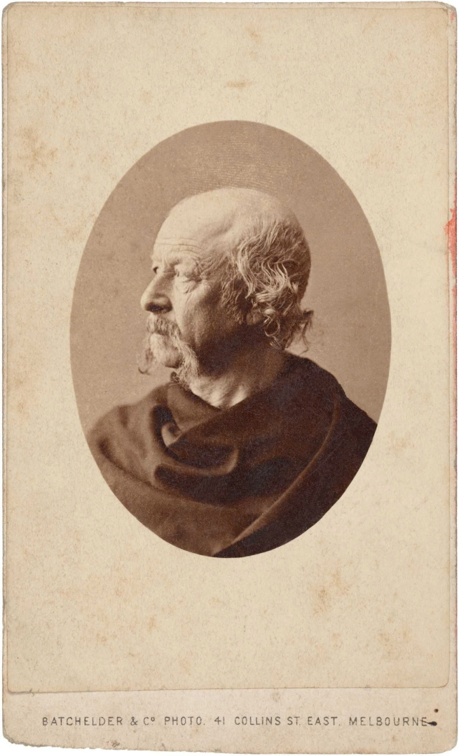 Batchelder & Co. Photo. 'Richard Henry Horne (age 58 in 1860)' mid 1860s
