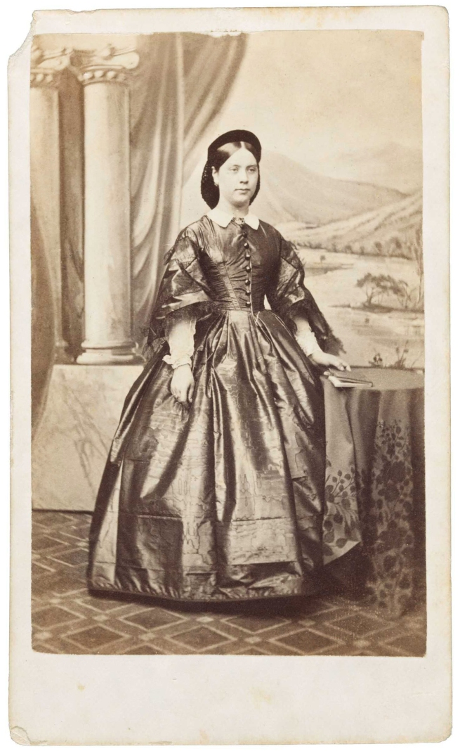 Davies & Co. 'Julia Matthews (age 20 in 1862)' c. 1862