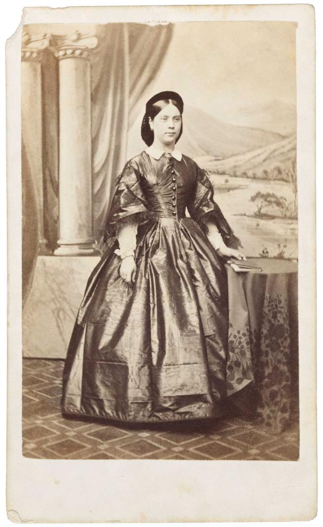 Davies & Co. 'Julia Matthews (age 20 in 1862)' c. 1862
