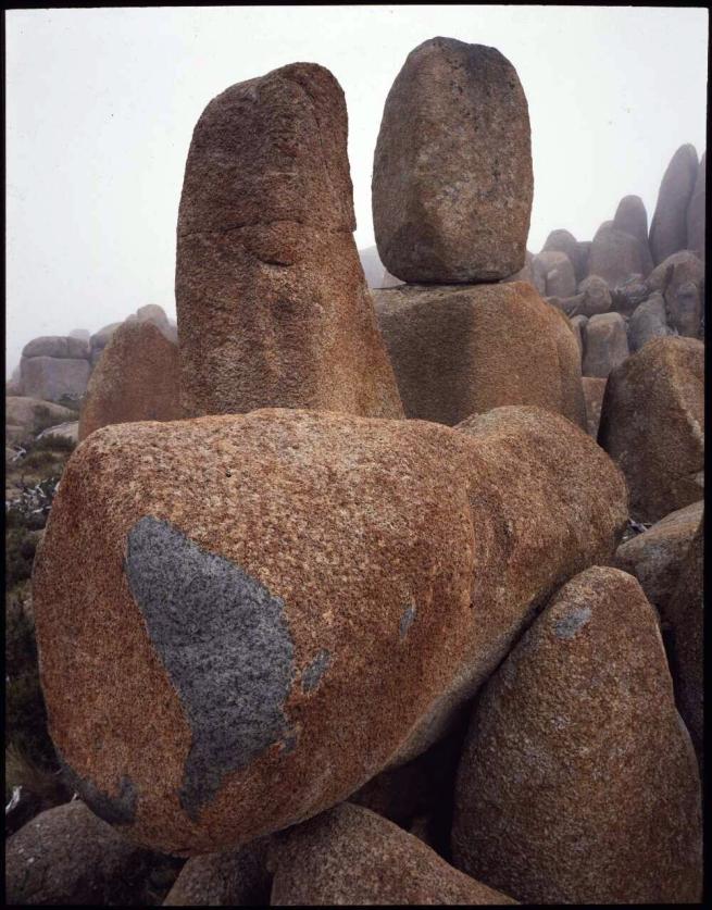 Peter Dombrovskis. 'Dolerite tors on Mount Wellington plateau, Hobart, Tasmania' 1990