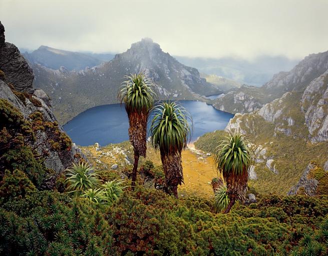 Peter Dombrovskis (Australian, born Germany 1945-96) 'Lake Oberon, Western Arthur Range, Southwest National Park, Tasmania' 1988