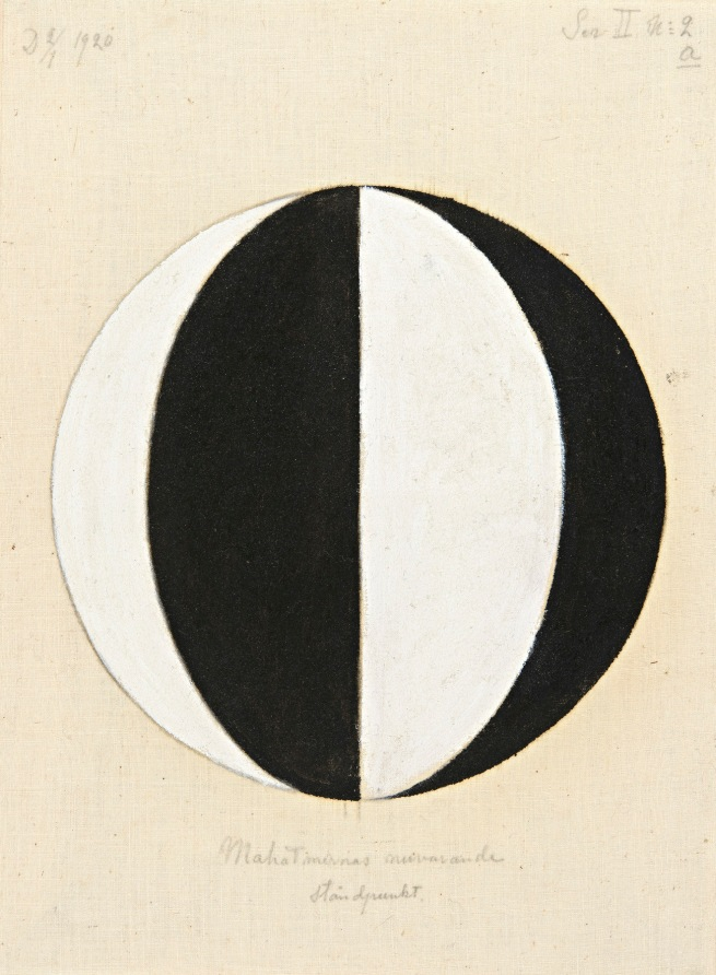 Hilma af Klint (Swedish, 1862-1944) 'No. 2a, The Current Standpoint of the Mahatmas' (Nr 2a, Mahatmernas nuvarande ståndpunkt)1920