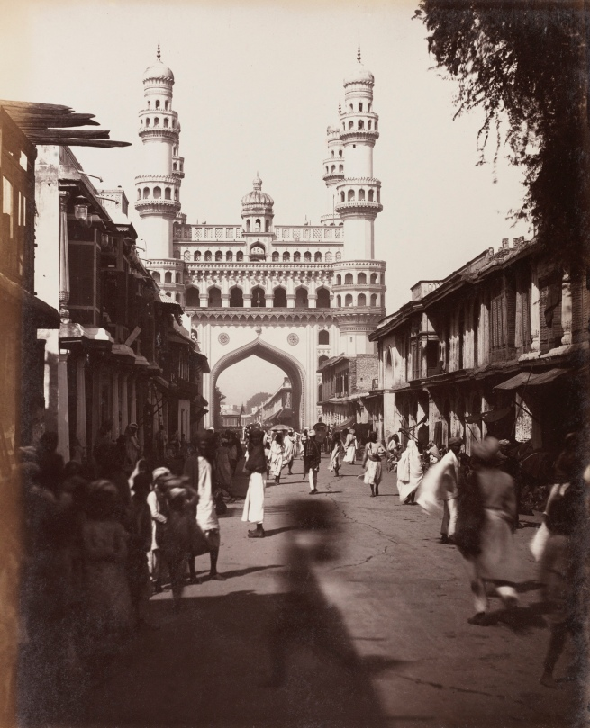 Lala Deen Dayal (Indian, 1844-1905) 'The Char Minar, Hyderabad' 1880s