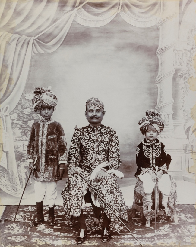 R.K. Brothers. 'Ruling group, probably from Bikaner' c. 1900