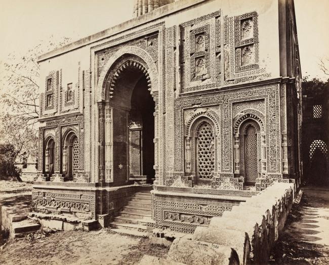 Samuel Bourne (English, 1834-1912) 'Alai Darwaza at the Qutb, Delhi' c. 1864