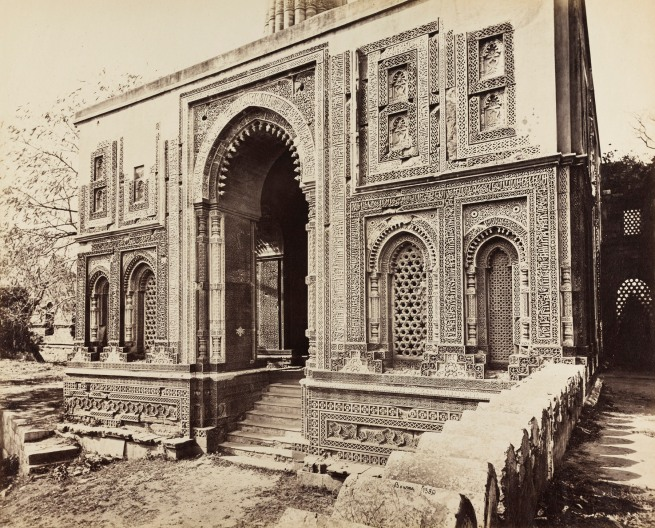 Samuel Bourne (English, 1834-1912) 'Alai Darwaza at the Qutb, Delhi' c. 1864