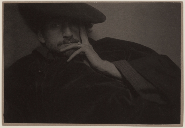 Edward Steichen (American, born Luxembourg, 1879-1973) 'Solitude (Portrait of F. Holland Day)' 1901