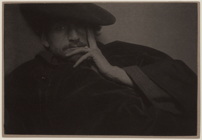 Edward Steichen (American, born Luxembourg, 1879-1973) 'Solitude (Portrait of F. Holland Day)' 1901