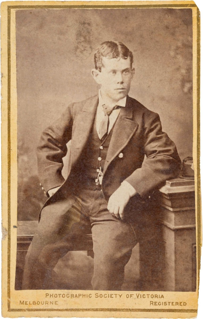 The Photographic Society of Victoria, Melbourne. 'Thomas Pearce (age 18 in 1878)' c. 1878