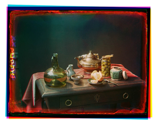 Bernard F. Eilers (1878-1951) 'Stilleven met koperen pot en glazen fles' (Still life with copper pot and glass bottle) 1920/1939