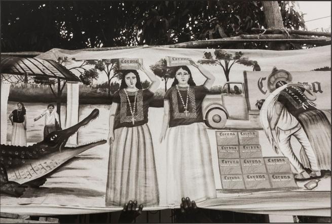 Graciela Iturbide (Mexican, b. 1942) 'Festival del Lagarto' 1985