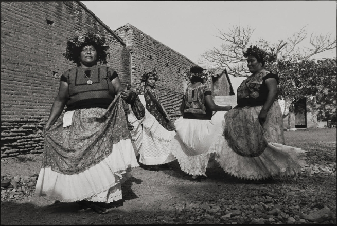 Graciela Iturbide (Mexican, b. 1942) 'Dance, Juchitán, México' 1986