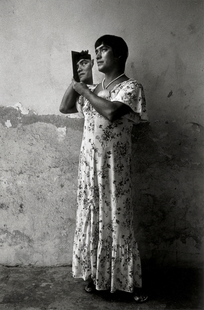 Graciela Iturbide (Mexican, b. 1942) 'Magnolia with Mirror, Juchitán, México' 1986