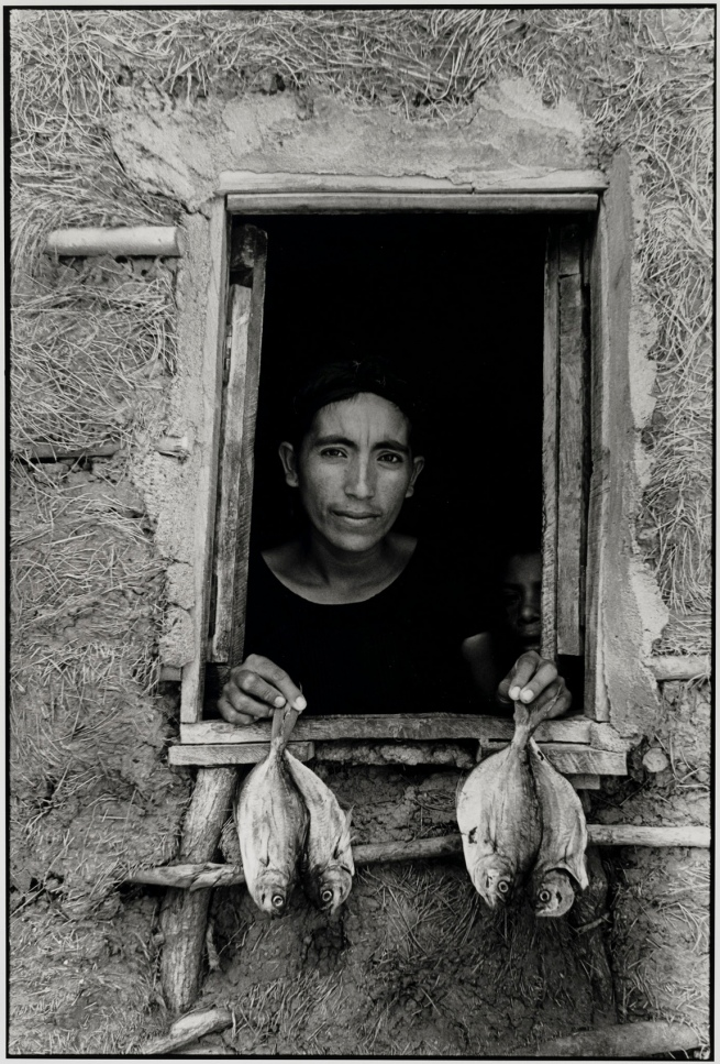 Graciela Iturbide (Mexican, b. 1942) 'Cuatro Pescaditos, Juchitán, México' (Four Little Fishes, Juchitán, Mexico) 1986