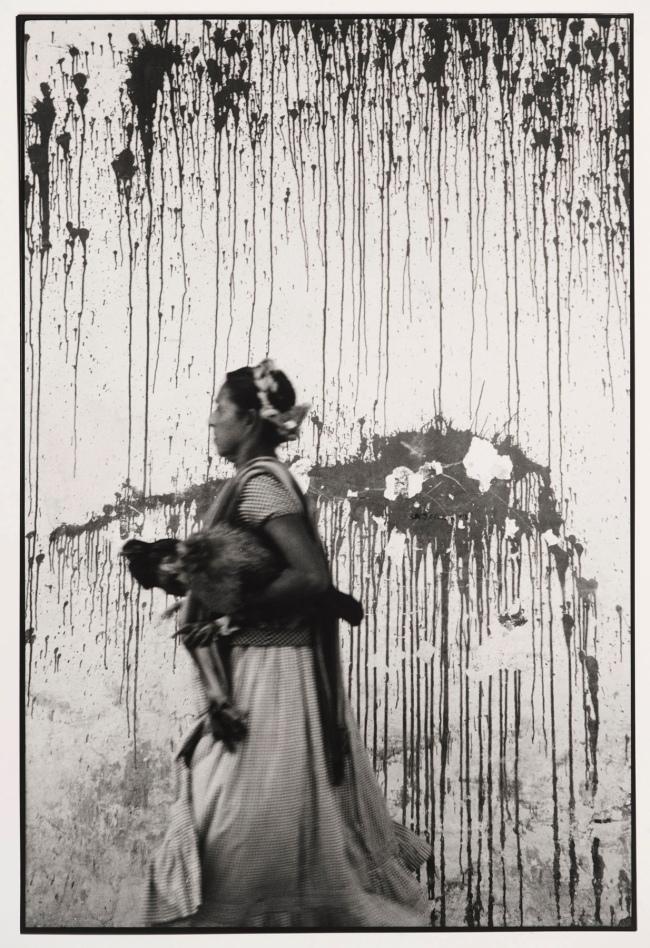 Graciela Iturbide (Mexican, b. 1942) 'Los Pollos, Juchitán, México' (Chickens, Juchitán, Mexico) 1979