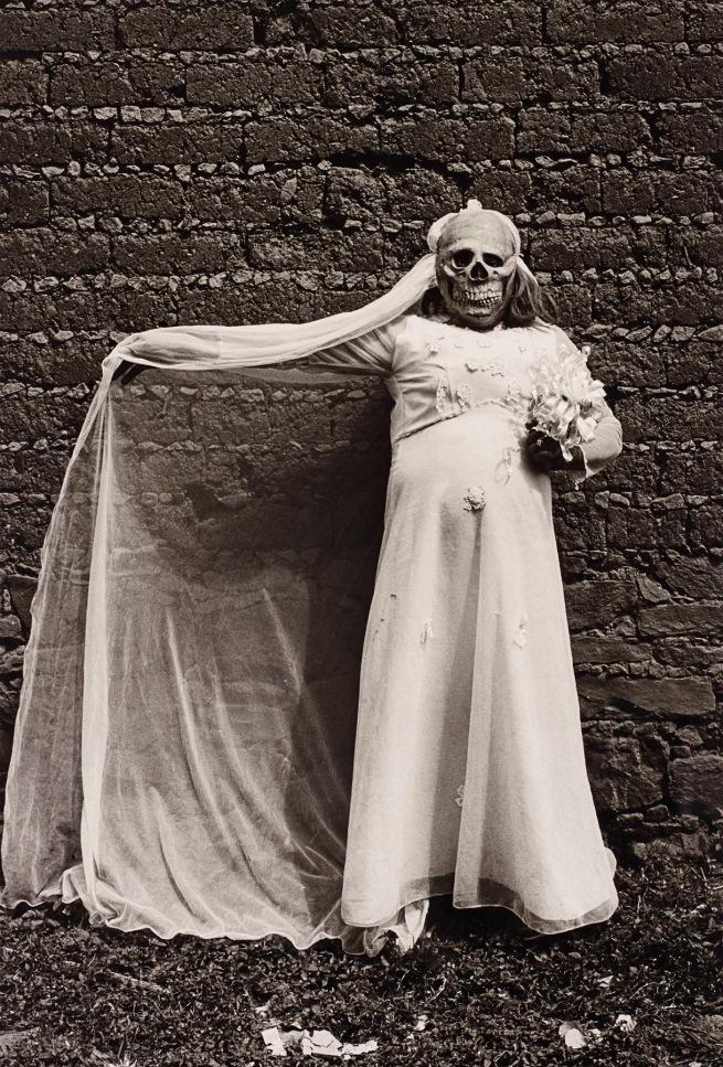 Graciela Iturbide (Mexican, b. 1942) 'Novia Muerte, Chalma, Mexico' 1986