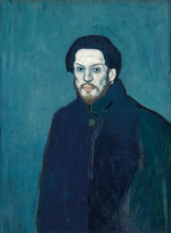 Pablo Picasso (Spanish, 1881-1973) 'Autoportrait' 1901