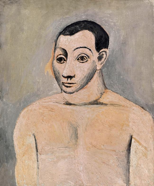 Pablo Picasso (Spanish, 1881-1973) 'Autoportrait' (Self-portrait) 1906
