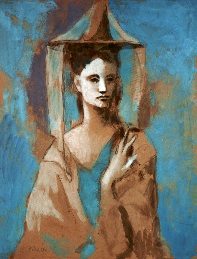 Pablo Picasso (Spanish, 1881-1973) 'Femme de l'Île de Majorque' (Woman from Mallorca) 1905