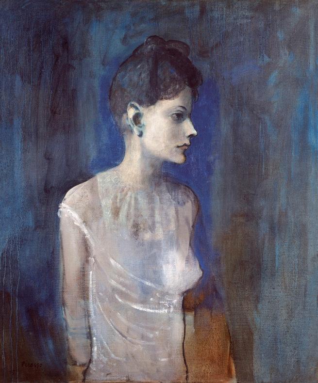 Pablo Picasso (Spanish, 1881-1973) 'Femme en chemise (Madeleine)' 1904-1905