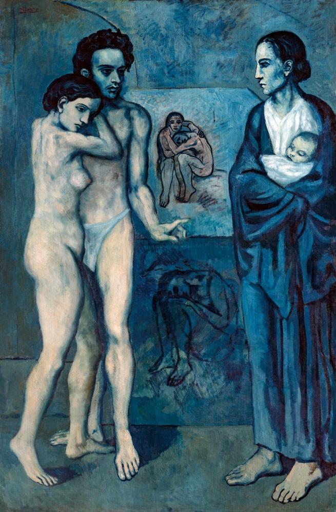 Pablo Picasso (Spanish, 1881-1973) 'La Vie' 1903