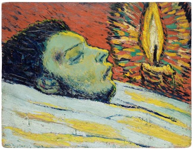 Pablo Picasso (Spanish, 1881-1973) 'La Mort de Casagemas' 1901