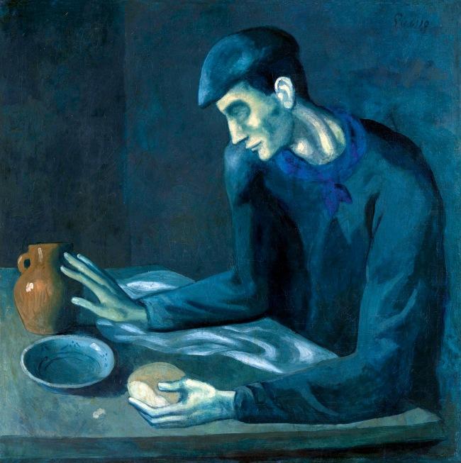Pablo Picasso (Spanish, 1881-1973) 'Le Repas de l'aveugle' (The Blind Man's Meal) 1903