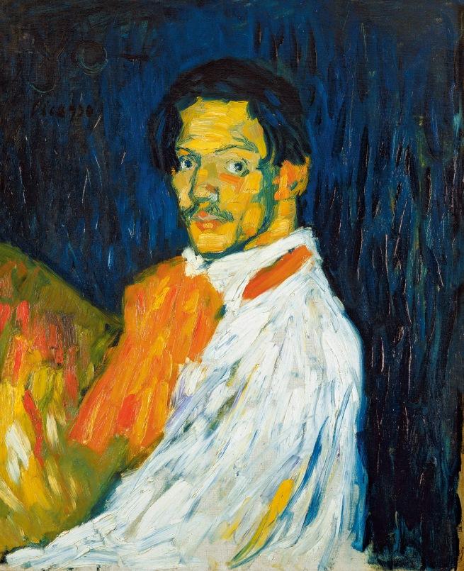 Pablo Picasso (Spanish, 1881-1973) 'Yo Picasso' 1901