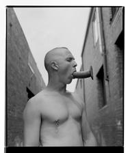 Marcus Bunyan. 'Paul (Dildo II)' 1995-96 from the series 'Mask'