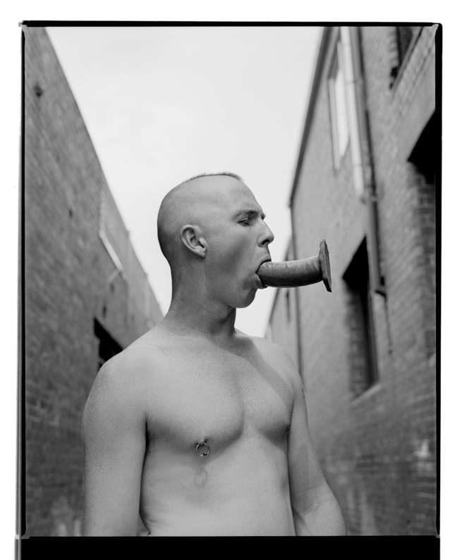 Marcus Bunyan. 'Paul (Dildo II)' 1994 from the series 'Mask'
