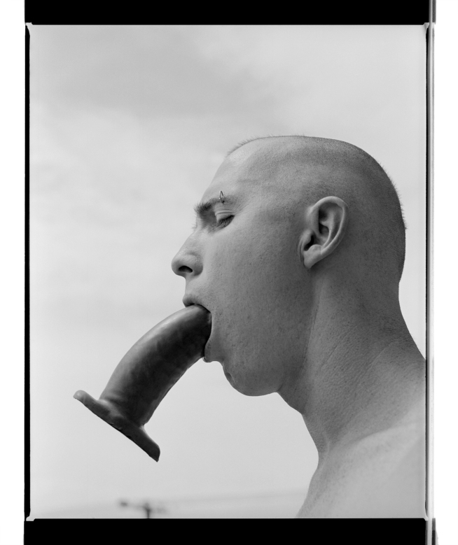 Marcus Bunyan. 'Paul (Dildo III)' 1994 from the series 'Mask'