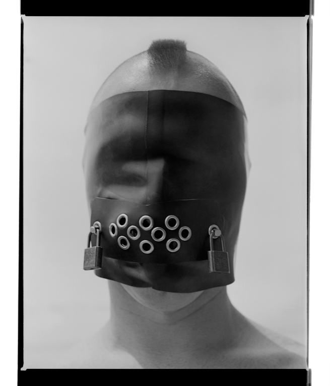 Marcus Bunyan. 'Mask IV' 1995-96 from the series 'Mask'