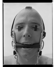 Marcus Bunyan. 'Paul (Blind)' 1995-96 from the series 'Mask'