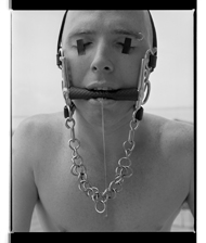 Marcus Bunyan. 'Saliva' 1995-96 from the series 'Mask'