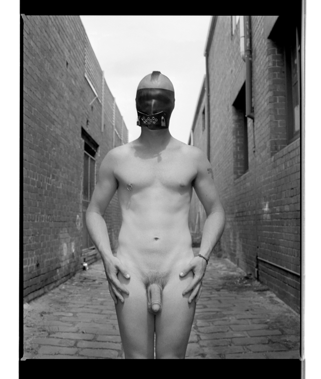 Marcus Bunyan. 'Paul (Hands on hips)' 1995-96 from the series 'Mask'