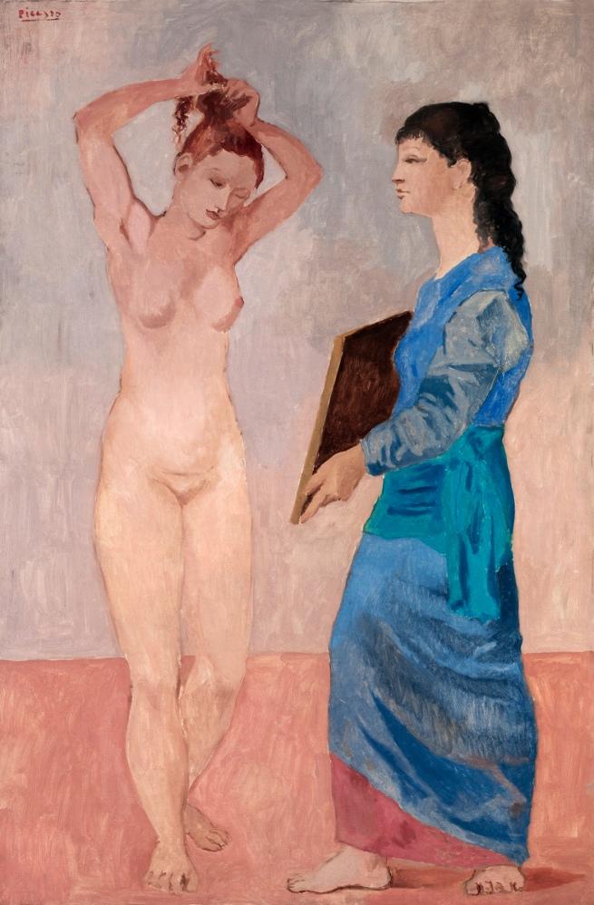 Pablo Picasso (Spanish, 1881-1973) 'La toilette' 1906