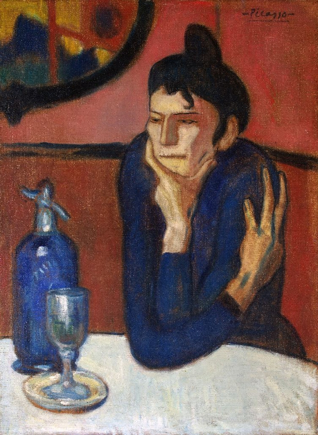 Pablo Picasso (Spanish, 1881-1973) 'Buveuse d'absinthe' (The Absinthe Drinker) 1901