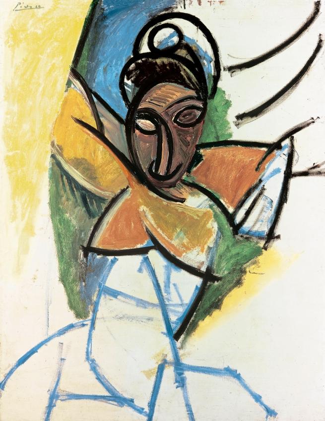 """Pablo Picasso (Spanish, 1881-1973) 'Femme' (Epoque des """"Demoiselles d'Avignon"""") 1907"""