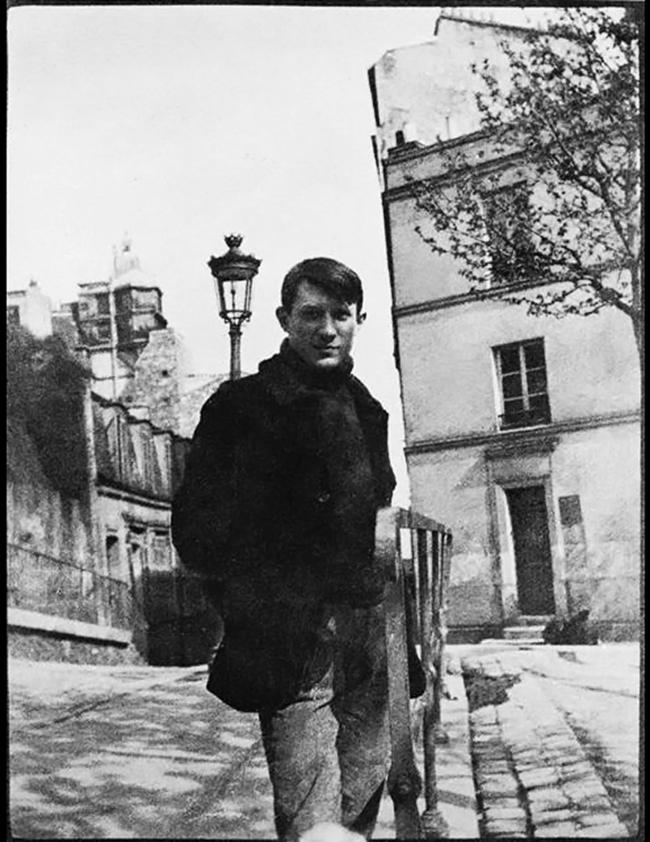 Anonymous photographer. 'Pablo Picasso on Place Ravignan, Montmartre, Paris' 1904